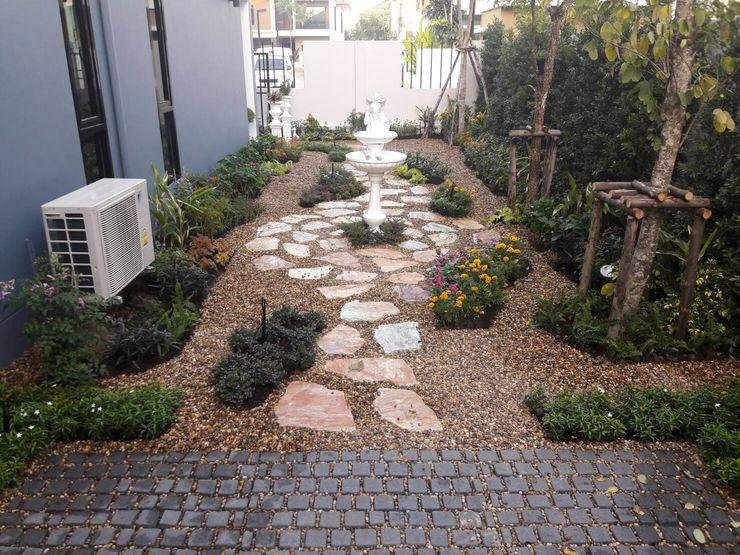 Dear_landscape Jardines rústicos Aglomerado Azul