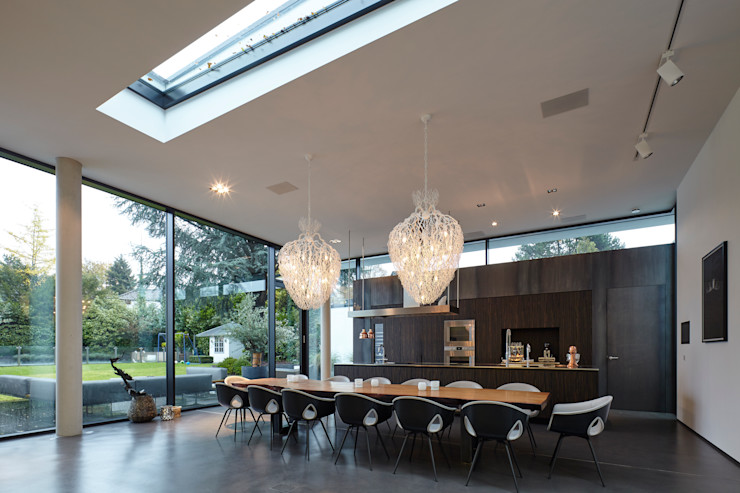 Moderner Essbereich Lioba Schneider Architekturfotografie Moderne Esszimmer