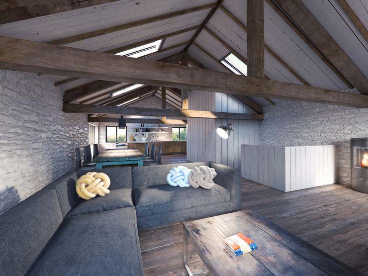 The Workshop - living space design storey Living room