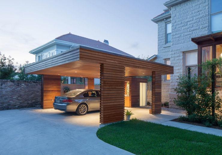 City Park Carport, New Orleans studioWTA Modern Garage and Shed