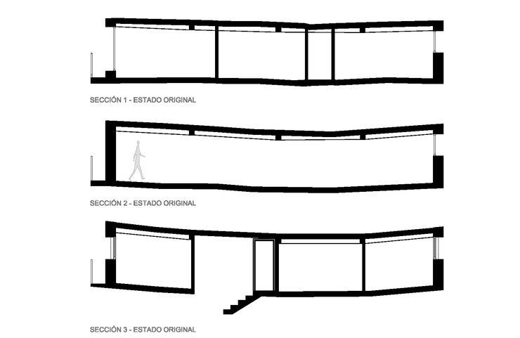ESTADO ORIGINAL ZEBRA LAB ARQUITECTURA Salones de estilo moderno