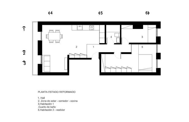 ESTADO REFORMADO ZEBRA LAB ARQUITECTURA Salones de estilo moderno