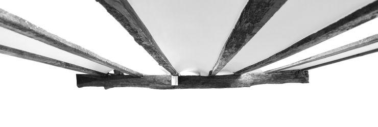 DETALLE DE TECHO DE BOVEDILLA ZEBRA LAB ARQUITECTURA Paredes y suelos de estilo moderno