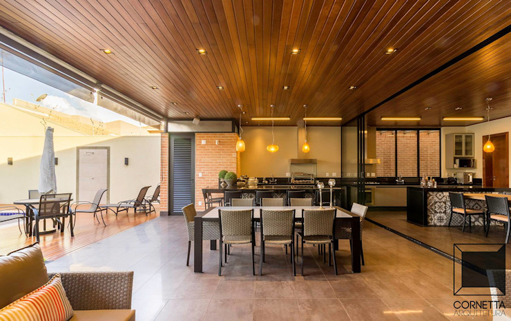 Cornetta Arquitetura Modern houses