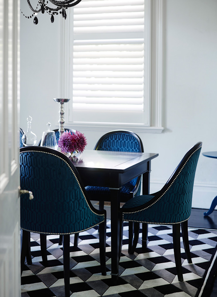 Conexo. Modern Dining Room Solid Wood Black