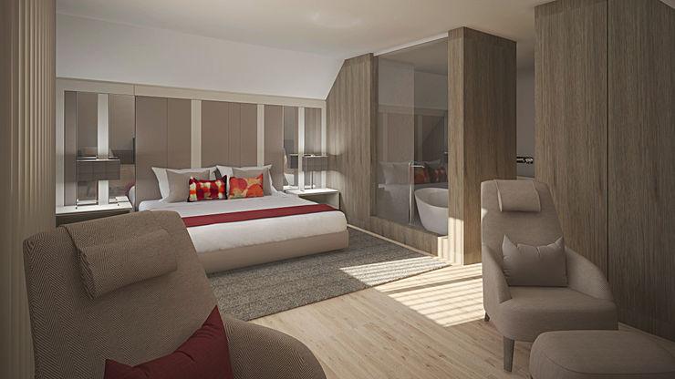 Quarto Inside Home Unipessoal LDA. Quartos modernos Multicolor