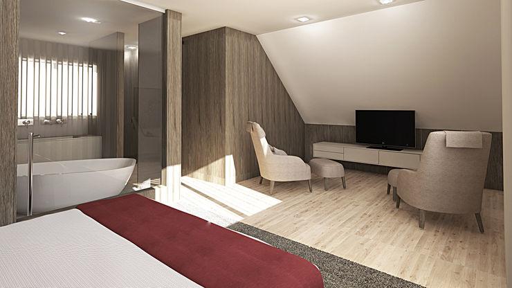 sala de estar Inside Home Unipessoal LDA. Quartos modernos Multicolor