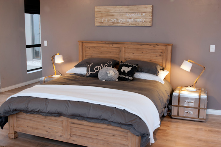 Walkersons House Urban Habitat Architects Rustic style bedroom