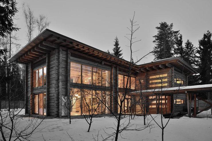 Дом Ловушка для солнца Проект ОБЛО Дома в стиле модерн