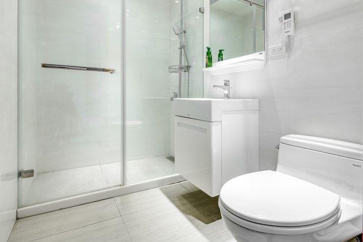 內湖-公園錄 唯創空間設計公司 浴室