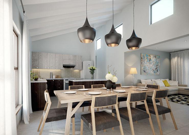 HEID Interior Design Ruang Makan Minimalis Multicolored