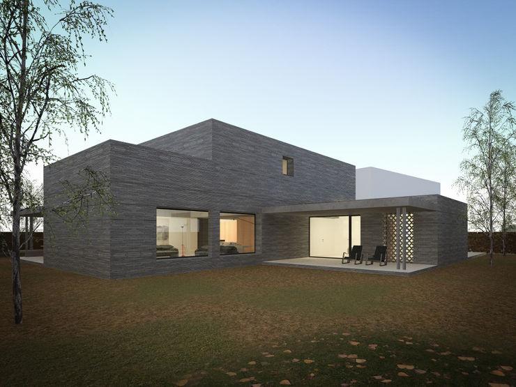 MIDE architetti Maisons modernes