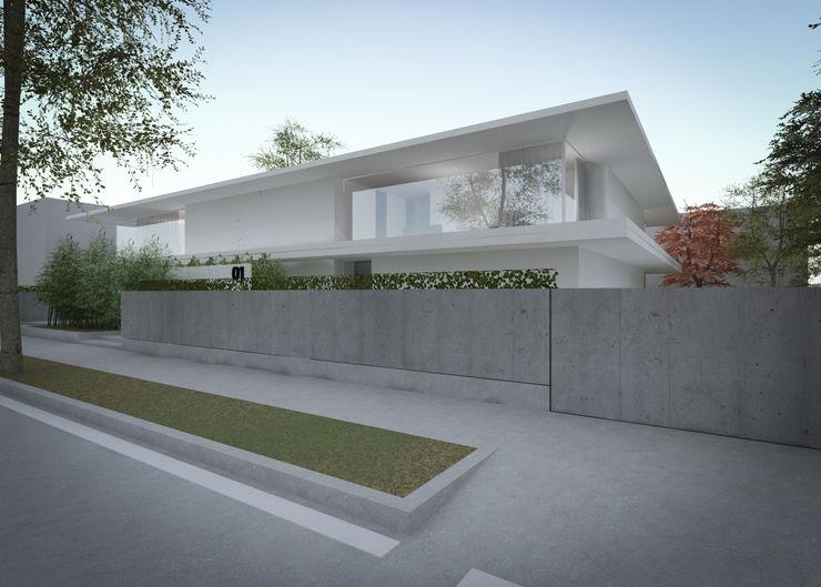 MIDE architetti Fenêtres & Portes minimalistes