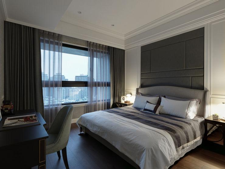 英式古典情挑 大荷室內裝修設計工程有限公司 Classic style bedroom