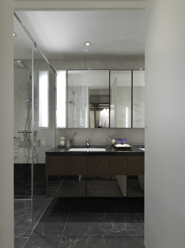 英式古典情挑 大荷室內裝修設計工程有限公司 Classic style bathroom