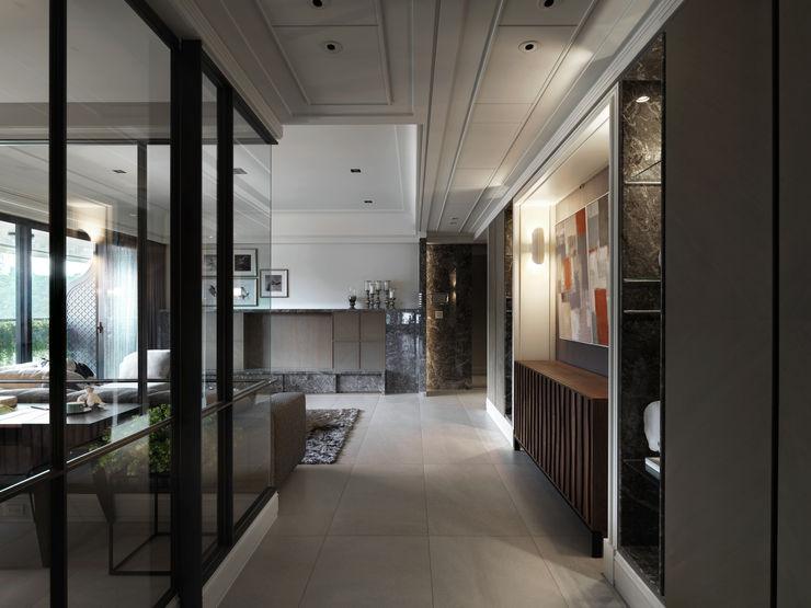浪漫的歸屬 大荷室內裝修設計工程有限公司 Living room