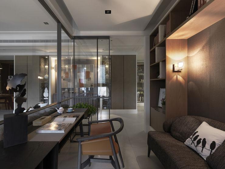 浪漫的歸屬 大荷室內裝修設計工程有限公司 Study/office
