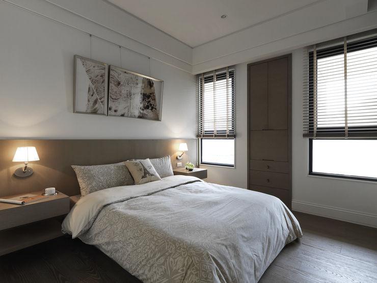 浪漫的歸屬 大荷室內裝修設計工程有限公司 Classic style bedroom