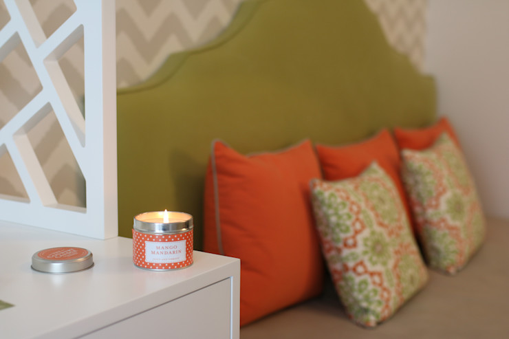 Quarto de Adolescente_ Small and Happy Perfect Home Interiors Quartos de criança modernos Verde