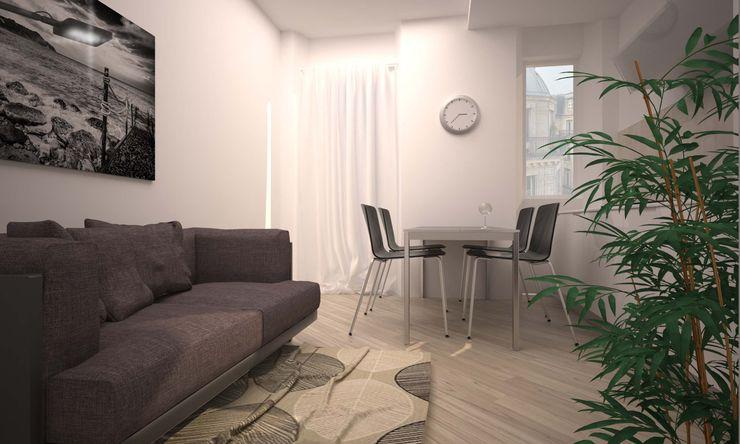VIA CEVA LAB16 architettura&design Soggiorno moderno