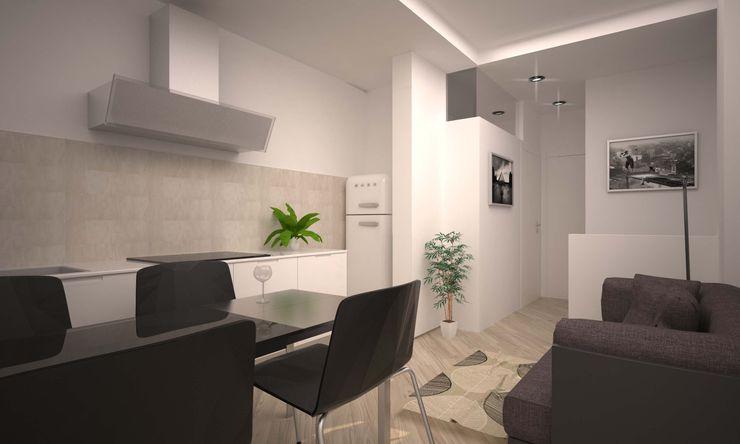 VIA CEVA LAB16 architettura&design Cucina moderna