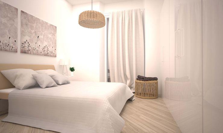 VIA CEVA LAB16 architettura&design Camera da letto moderna