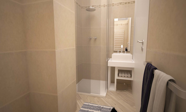 VIA CEVA LAB16 architettura&design Bagno moderno