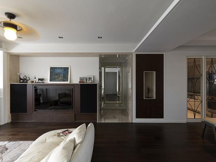 家的風景 大荷室內裝修設計工程有限公司 Living room