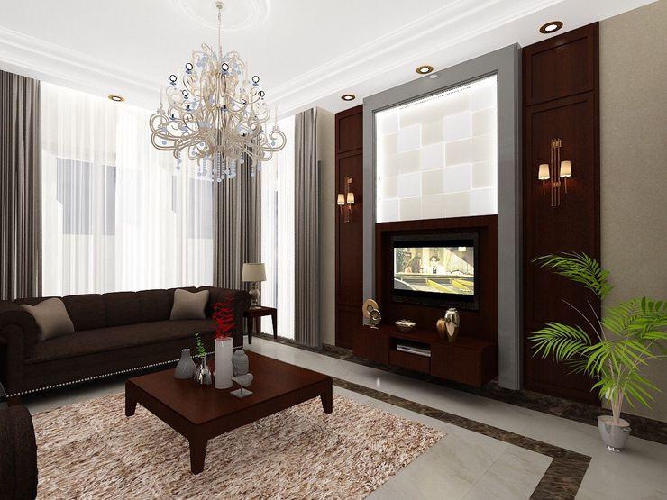 الرواد العرب Livings de estilo clásico