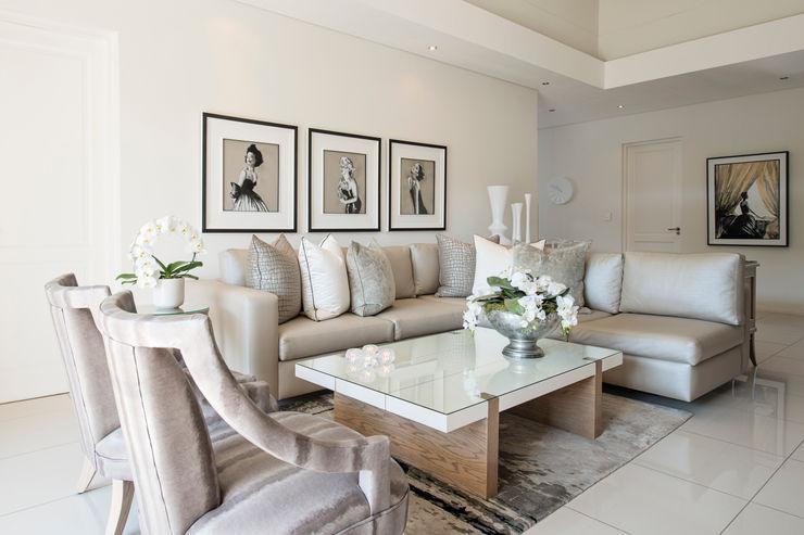 Tru Interiors غرفة المعيشة