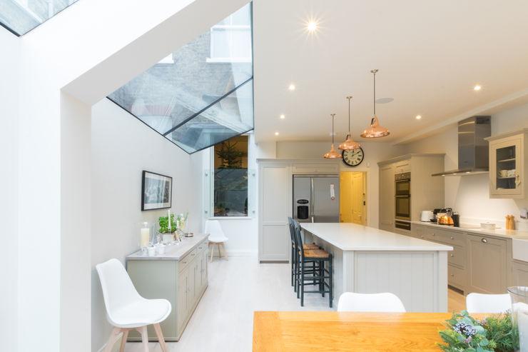 Major renovation, extension and loft. Fulham W6 TOTUS Dapur Modern