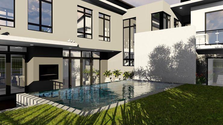 Ellipsis Architecture Casas modernas