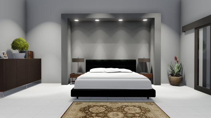 Ellipsis Architecture Cuartos de estilo moderno