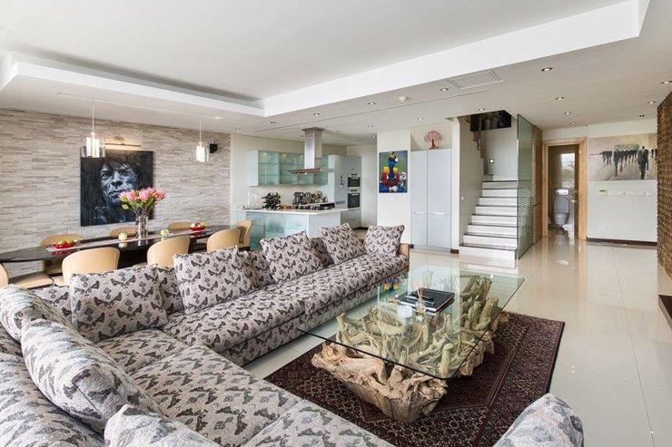 Apartment Robertson - Pembroke Covet Design Modern living room