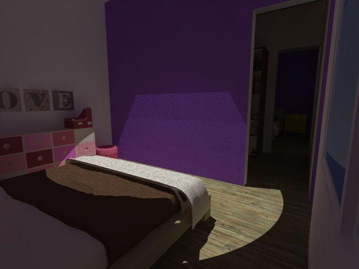 MVarquitectos Arq. Irma Mendoza Modern Bedroom