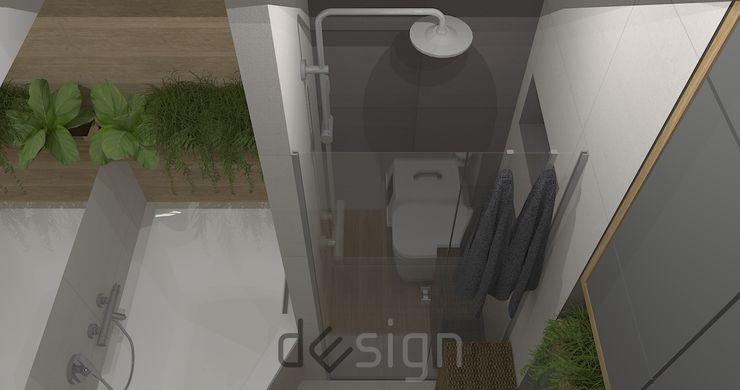 DW SIGN Pracownia Architektury Wnętrz Modern Bathroom