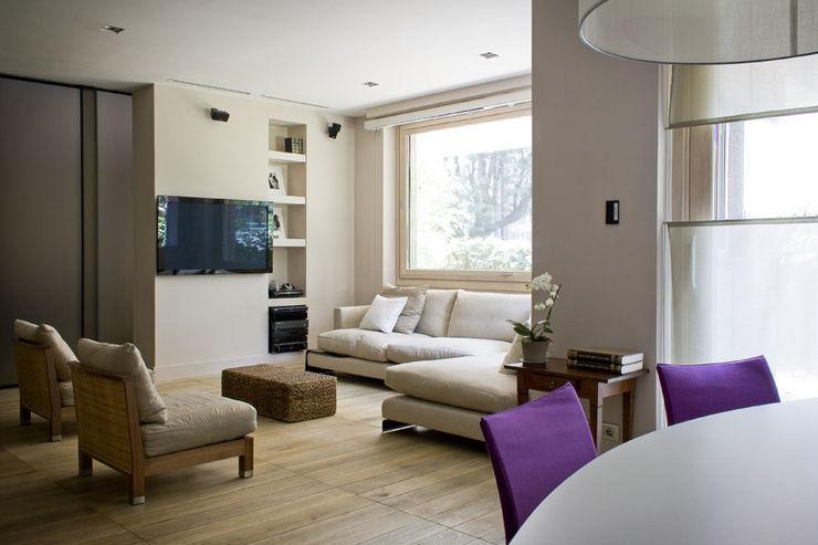 The Wood Alchemist - Simone Castelli Modern living room