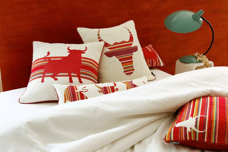 Tissage Art de Lys Living roomAccessories & decoration کپاس Red