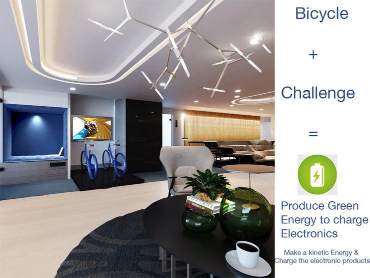 Gizem ONURMEN ARCHITECTS Modern study/office