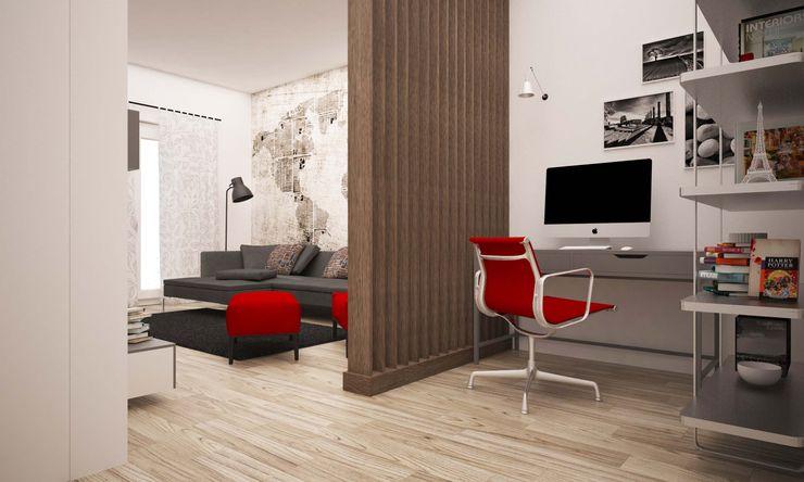 LAB16 architettura&design Koridor & Tangga Gaya Industrial