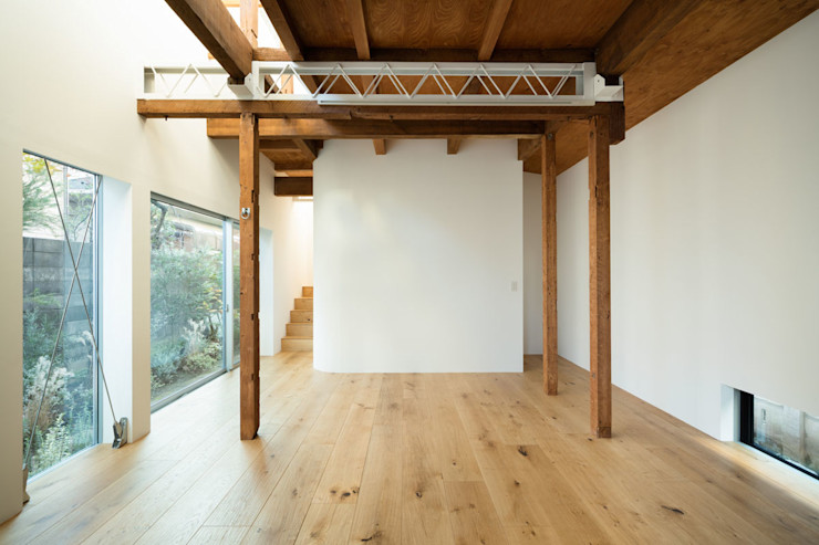 ディンプル建築設計事務所 Moderne woonkamers