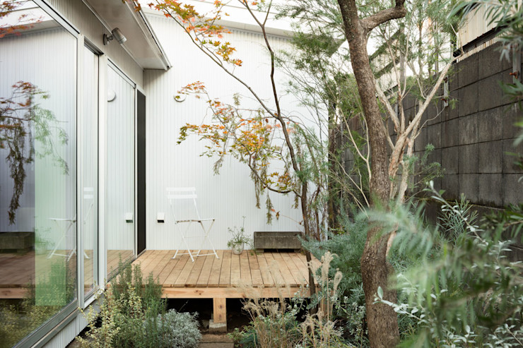 ディンプル建築設計事務所 Moderne tuinen