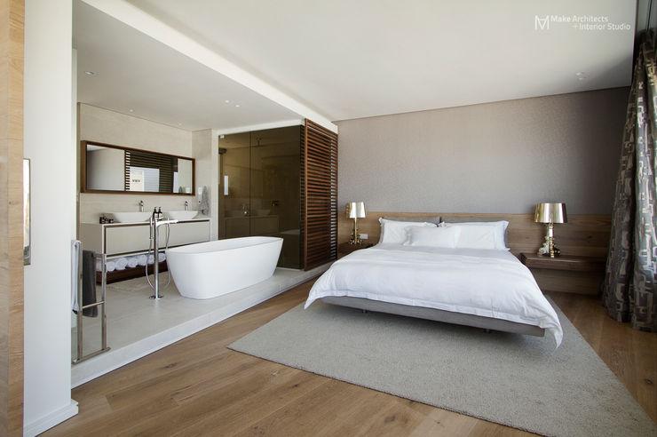 Clifton Apartment Make Architects + Interior Studio Minimalist bedroom