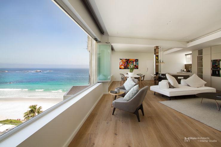 Clifton Apartment Make Architects + Interior Studio Modern windows & doors