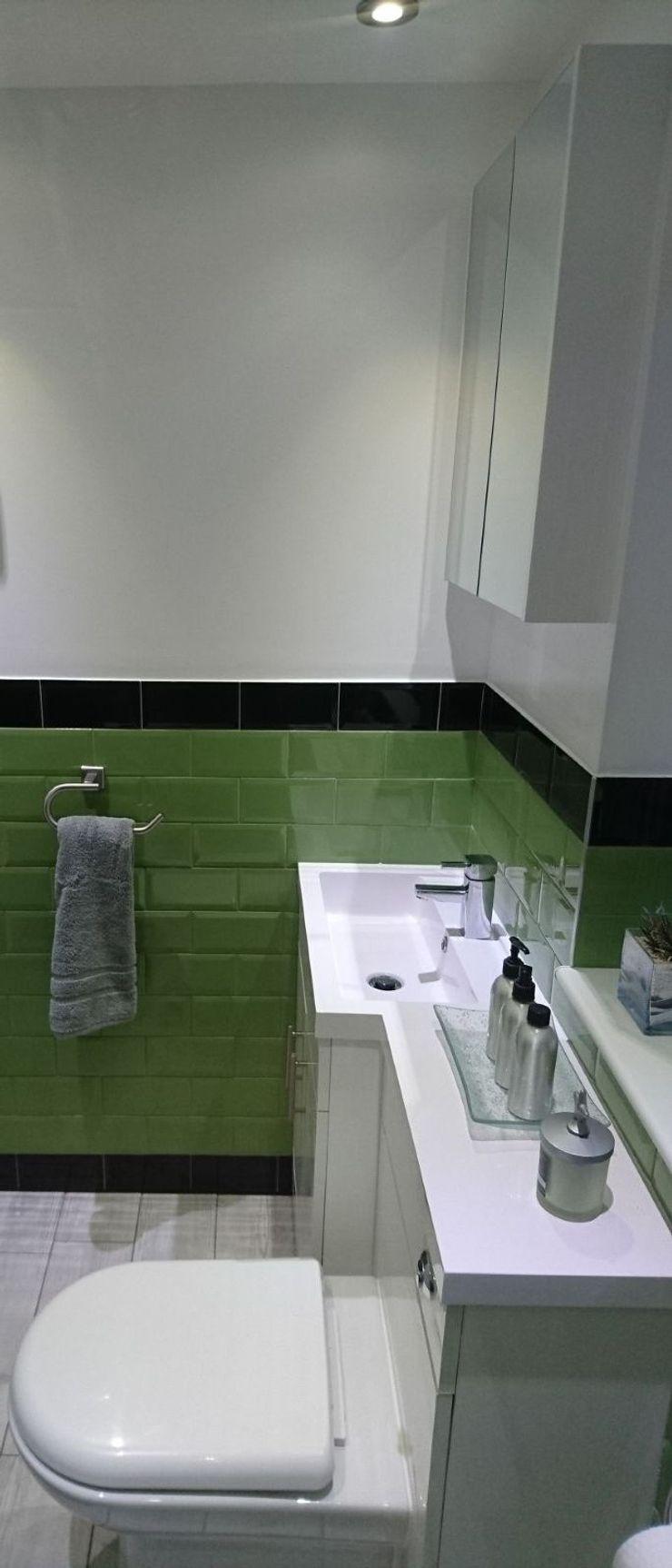 Bathroom Refurbishment and Re-design Kerry Holden Interiors Modern bathroom