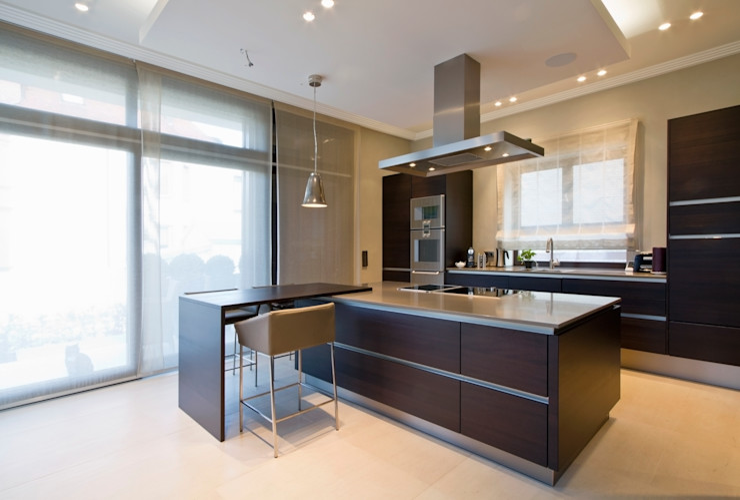 innen_architekten BALS + WIRTH Dapur Modern