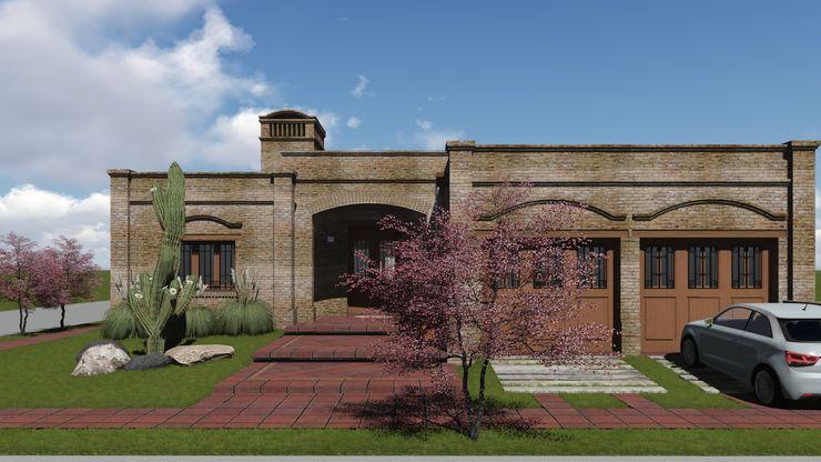 ARBOL Arquitectos Rumah Gaya Rustic