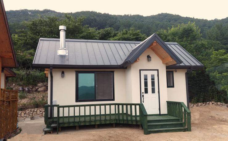 보국주택 Modern houses Grey