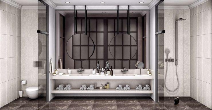 Villa Balıkesir VERO CONCEPT MİMARLIK Modern Bathroom