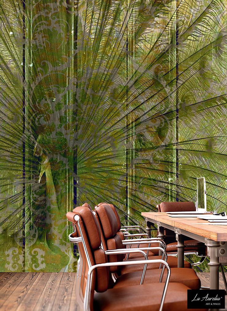 Elegance Wallpaper La Aurelia Walls & flooringWallpaper Green
